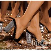 Glittry Heely Sandals | Shoes for sale in Lagos State, Lekki Phase 1