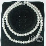 White Pearl Beaded Necklace-Set of 2 | Jewelry for sale in Lagos State, Oshodi-Isolo