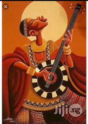 African Musician Paintings Hand Painted | Arts & Crafts for sale in Lagos State, Lekki Phase 2