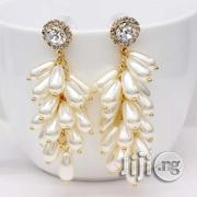 Main Original Ziconia Earrings, Does Not Fade or Peel.   Jewelry for sale in Lagos State, Lagos Island