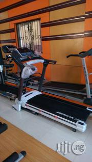 Brand New 2.5hp American Fitness Treadmill With Massager | Massagers for sale in Lagos State, Surulere