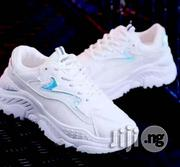 White Designer Sprint Sneakers for Ladies   Shoes for sale in Lagos State