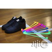 Nike Air Force 1 Velcro Swoosh | Black | Shoes for sale in Lagos State, Lagos Island