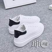 White Shoes Female Korean Version Of The Platform Sports Shoes | Shoes for sale in Lagos State, Ikeja