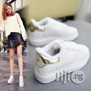 White Shoes Female Classic Platform Sports Shoes | Shoes for sale in Lagos State, Ikeja
