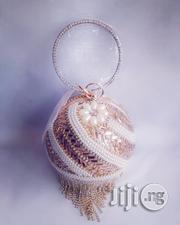 Beaded/Diamante Glittering Gold Ball Clutch/Purse | Bags for sale in Lagos State, Alimosho