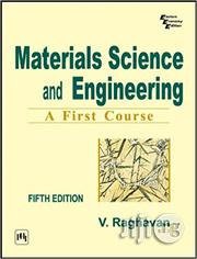 Materials Science and Engineering Fifth Edition by v. Raghavan   Books & Games for sale in Lagos State, Ikeja