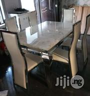 Quality Imported Six Seater Marble Dining Table | Furniture for sale in Lagos State, Lekki Phase 1