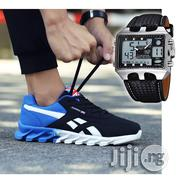 Classic Running Sports Sneakers and Ohsen Hybrid Waterproof Watch   Watches for sale in Lagos State