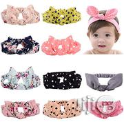Mookiraer Girls Elasticated Hair Turban Knot | Babies & Kids Accessories for sale in Lagos State, Surulere