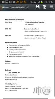 Qualified Teachers | Teaching CVs for sale in Lagos State, Alimosho