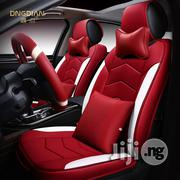 6D Car Seat Universal Thermostatic Leather All-inclusive Cushion Cover   Vehicle Parts & Accessories for sale in Lagos State, Ikeja