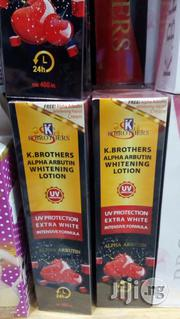 K Brothers Alpha Arbutin Whitening Lotion 400ml | Bath & Body for sale in Lagos State