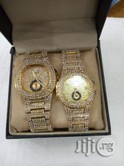 Patek Philippe Couples Gold Ice Stones Wristwatch. | Watches for sale in Lagos State, Surulere