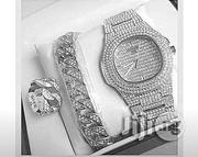 Patek Philippe All Ice Stone Wrist Watch | Watches for sale in Lagos State, Surulere