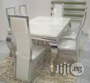 New Classy Marble Dining Table by 6 | Furniture for sale in Rivers State, Port-Harcourt