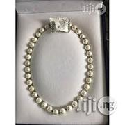 Longrich A-Plus Energy Necklace ( Pearl or Black Jade ) | Jewelry for sale in Rivers State, Port-Harcourt