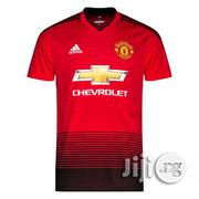 Authentic Manchester United Home Jersey | Clothing for sale in Abuja (FCT) State, Wuse