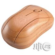 Horsebiz Bamboo Wireless Optical Mouse Healthy Sweat-resistant | Computer Accessories  for sale in Lagos State, Ikeja