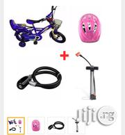 Simba BMX Bicycle 12''protective Helmet/Steel Wire Rope Lock/Hand Lock | Toys for sale in Lagos State, Alimosho