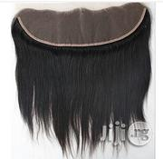 "Frontal Straight Human Hair Closure ""8"" 