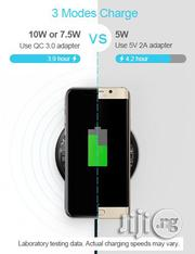 Baseus Qi Wireless Fast Charger-Transparant   Accessories for Mobile Phones & Tablets for sale in Lagos State, Ikeja