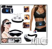 Abs Fitness Belt With Eye Wear Massager | Massagers for sale in Lagos State, Ikeja