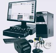 HP Desktop POS MACHINE And It's Accessories | Store Equipment for sale in Edo State, Uhunmwonde