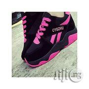 CYGZHU Fashion Ladies'sneakers- Black Pink | Shoes for sale in Lagos State, Oshodi-Isolo