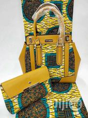 Exclusive Ankara Bags With 6yards Wax and Purse Imported Xx | Bags for sale in Edo State, Benin City