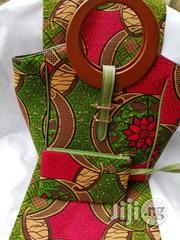 High Quality Imported Ankara Bags With 6yards Wax & Purse IV | Bags for sale in Lagos State, Ikeja