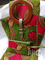 High Quality Imported Ankara Bags With 6yards Wax & Purse V | Bags for sale in Lagos State, Ikeja
