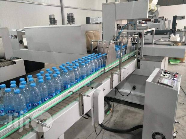 Full Automatic Shrink Packaging And Wrapping Machine