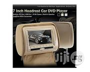 """Generic A Pair Of 7"""" Car Headrest DVD Player/Monitor-biege Colour 