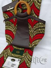 Italian Made Ankara Bags With 6yards Wax And Purse Vi | Bags for sale in Edo State, Benin City