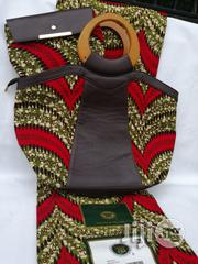 Italian Made Ankara Bags With 6yards Wax and Purse Vii | Bags for sale in Edo State, Benin City