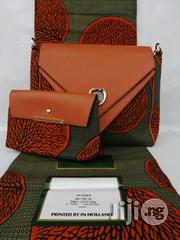 Fabric Bag With 6yrds Wax Purse on a Discount Price to Re-Seller/Bulk Buyers Ii | Bags for sale in Edo State, Benin City