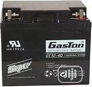 Gaston Rechargeable UPS Battery 12V 40ah Sku: 12V 40ah | Vehicle Parts & Accessories for sale in Lagos State, Surulere