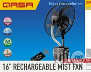 "Qasa 16"" Rechargeable Mist Fan 