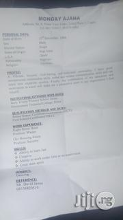 Housekeeping & Cleaning CV | Legal CVs for sale in Lagos State, Lekki Phase 1