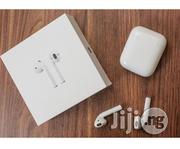 Copy Of Apple Airpods 2 With Wireless Charging Box | Headphones for sale in Lagos State, Ikeja