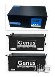 2.5kva/24v Sinergy Inverter With 2 Genus 200ah Batteries | Electrical Equipment for sale in Lagos State, Epe