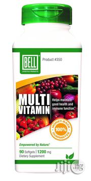 Bell Herbal Multivitamin In Softgel And In Liquid Form | Vitamins & Supplements for sale in Lagos State, Magodo