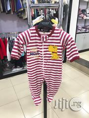 Red White Striped Baby Romper | Children's Clothing for sale in Lagos State, Maryland