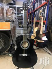 Armstrong 39 Inches Acoustic Box Guitar With Bag And Strap – Black   Musical Instruments & Gear for sale in Lagos State, Surulere