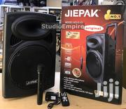 """Jiepak 12"""" Bluetooth PA System W/ Wireless Mic 