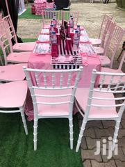 White Adult Chaivari Chairs For Rent @ Morphims Kids Party Planner | Party, Catering & Event Services for sale in Lagos State, Lekki Phase 1