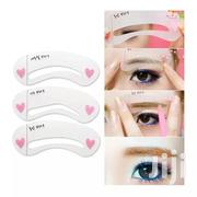 6 Pieces DIY Eye Brow Stencil   Makeup for sale in Abuja (FCT) State, Dei-Dei