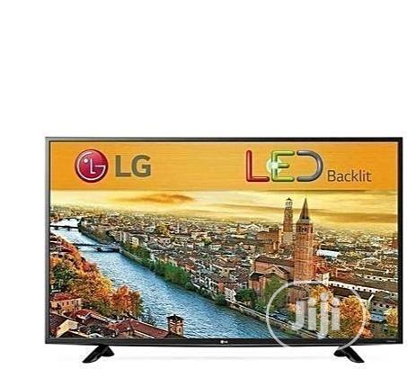 LG 32 Inches TV + Wall Bracket And Power Guard