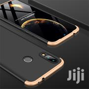 Xiaomi Redmi Note 7 Three Stage Full Coverage Case (Black Gold)   Accessories for Mobile Phones & Tablets for sale in Lagos State, Ikeja